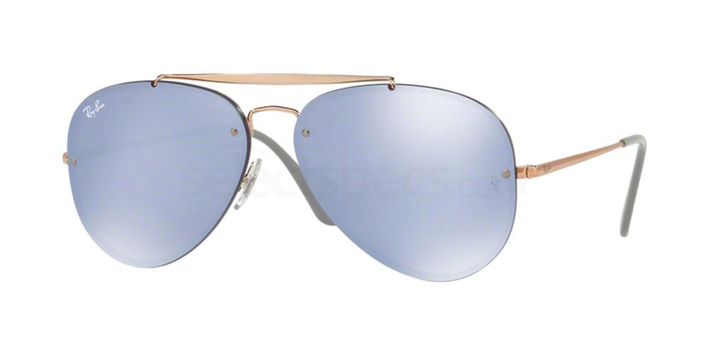 90531U RB3584N BLAZE AVIATOR Sunglasses, Ray-Ban