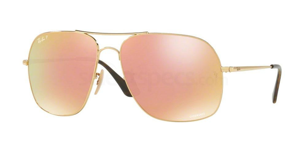 001/I0 RB3587CH Sunglasses, Ray-Ban