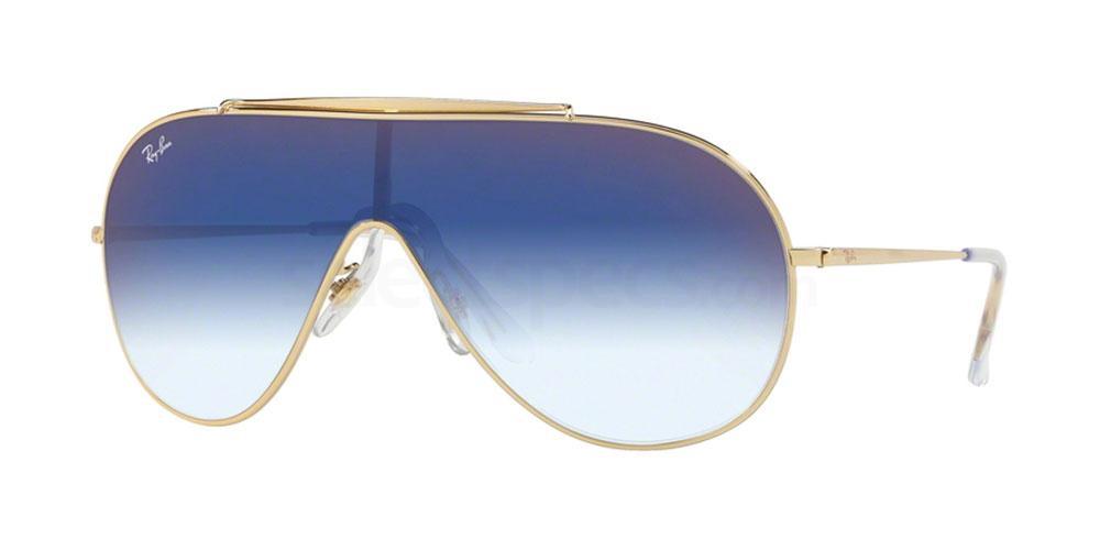 001/X0 RB3597 Sunglasses, Ray-Ban