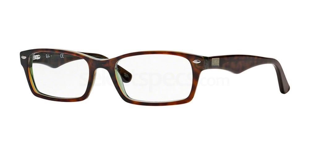 2445 RX5206 (1/2) Glasses, Ray-Ban