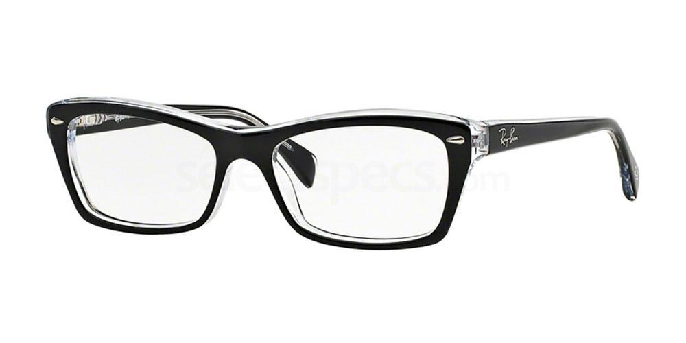 2034 RX5255 (1/2) Glasses, Ray-Ban