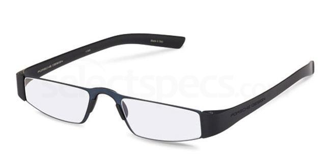 s +1.00 Power P8801 Reading Glasses - Navy Blue & Black Accessories, Porsche Design