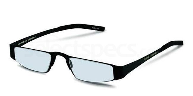 a +1.00 Power P8811 Reading Glasses - Black Accessories, Porsche Design