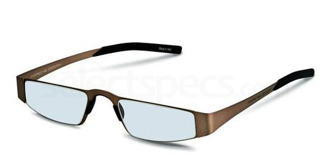 c +1.00 Power P8811 Reading Glasses - Light brown Accessories, Porsche Design