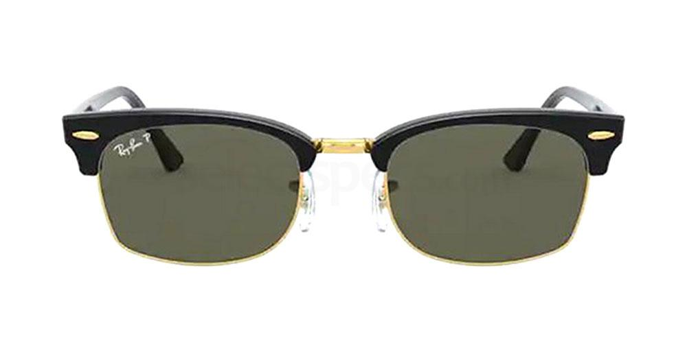130358 RB3916 CLUBMASTER SQUARE Sunglasses, Ray-Ban