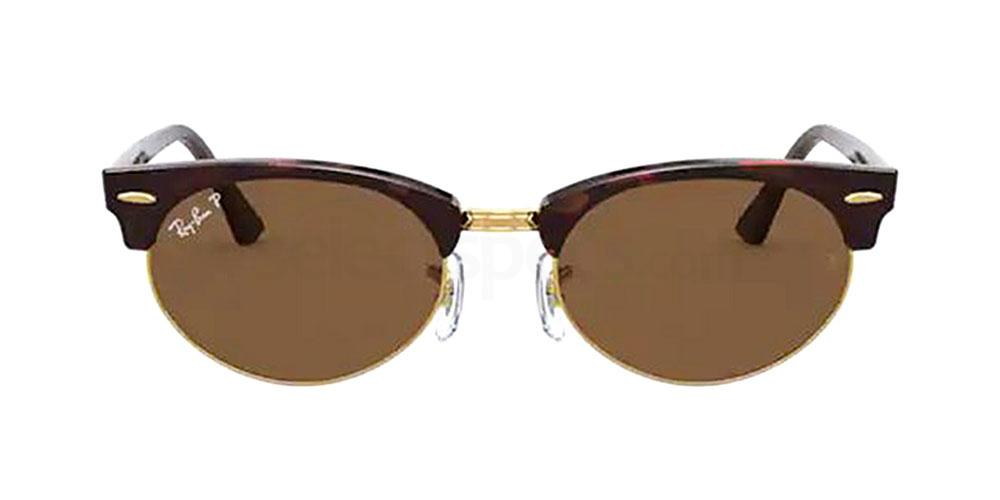130457 RB3946 CLUBMASTER OVAL Sunglasses, Ray-Ban
