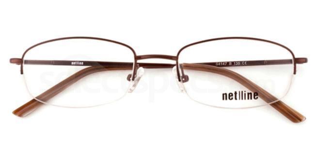 B S4147 Glasses, Net-Line