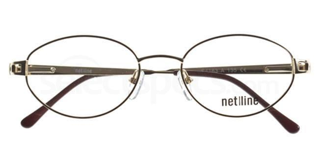 A S4163 Glasses, Net-Line