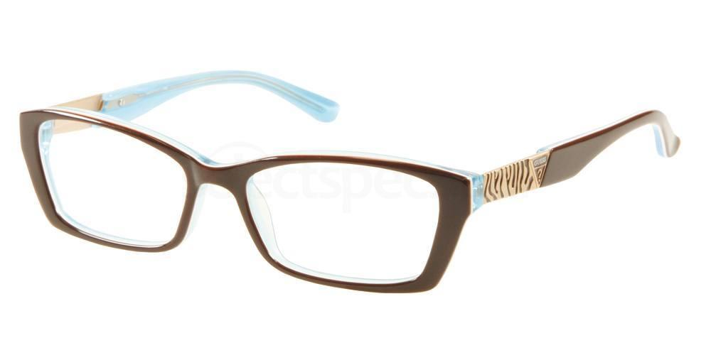 Guess_animal_pattern_prescription_glasses