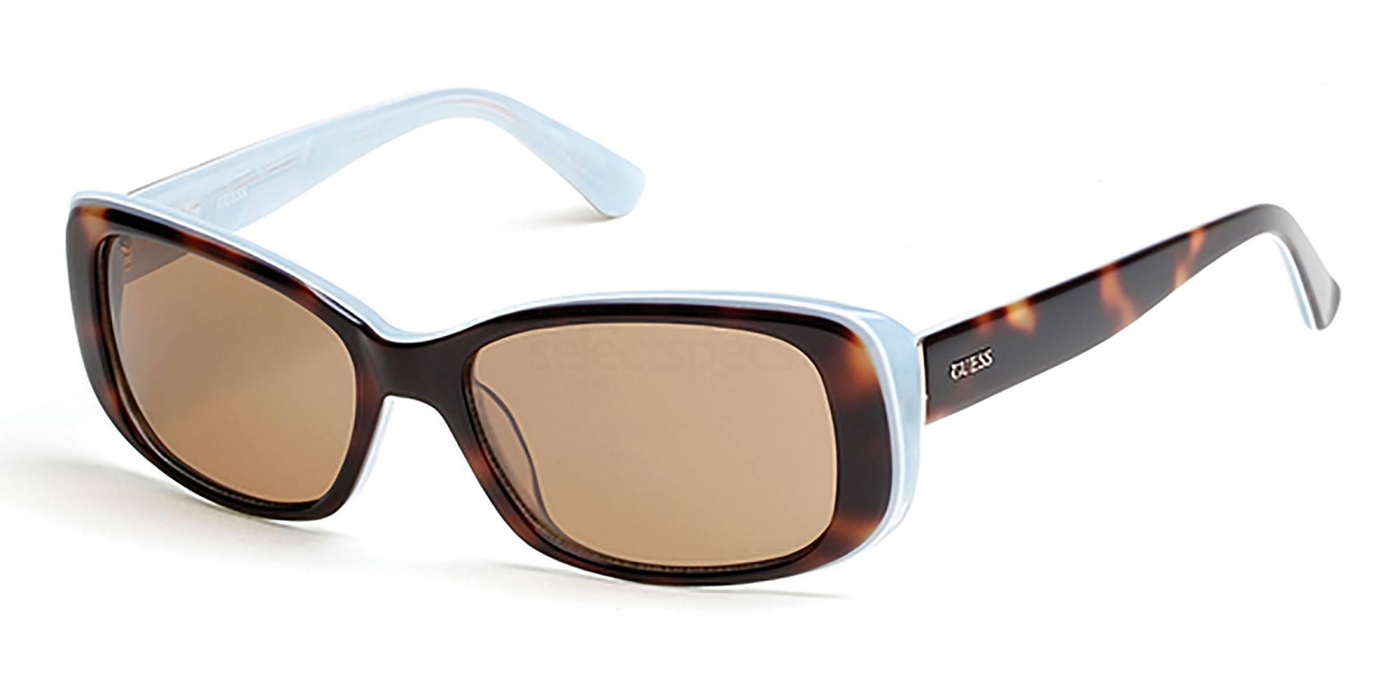 52E GU7408 Sunglasses, Guess