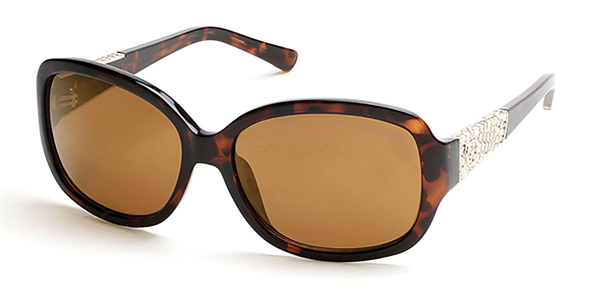52F GU7418 Sunglasses, Guess