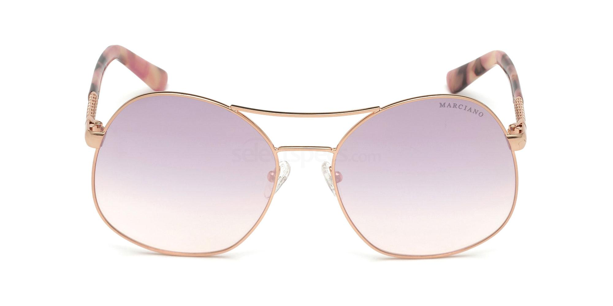 28C GM0807 Sunglasses, Guess by Marciano