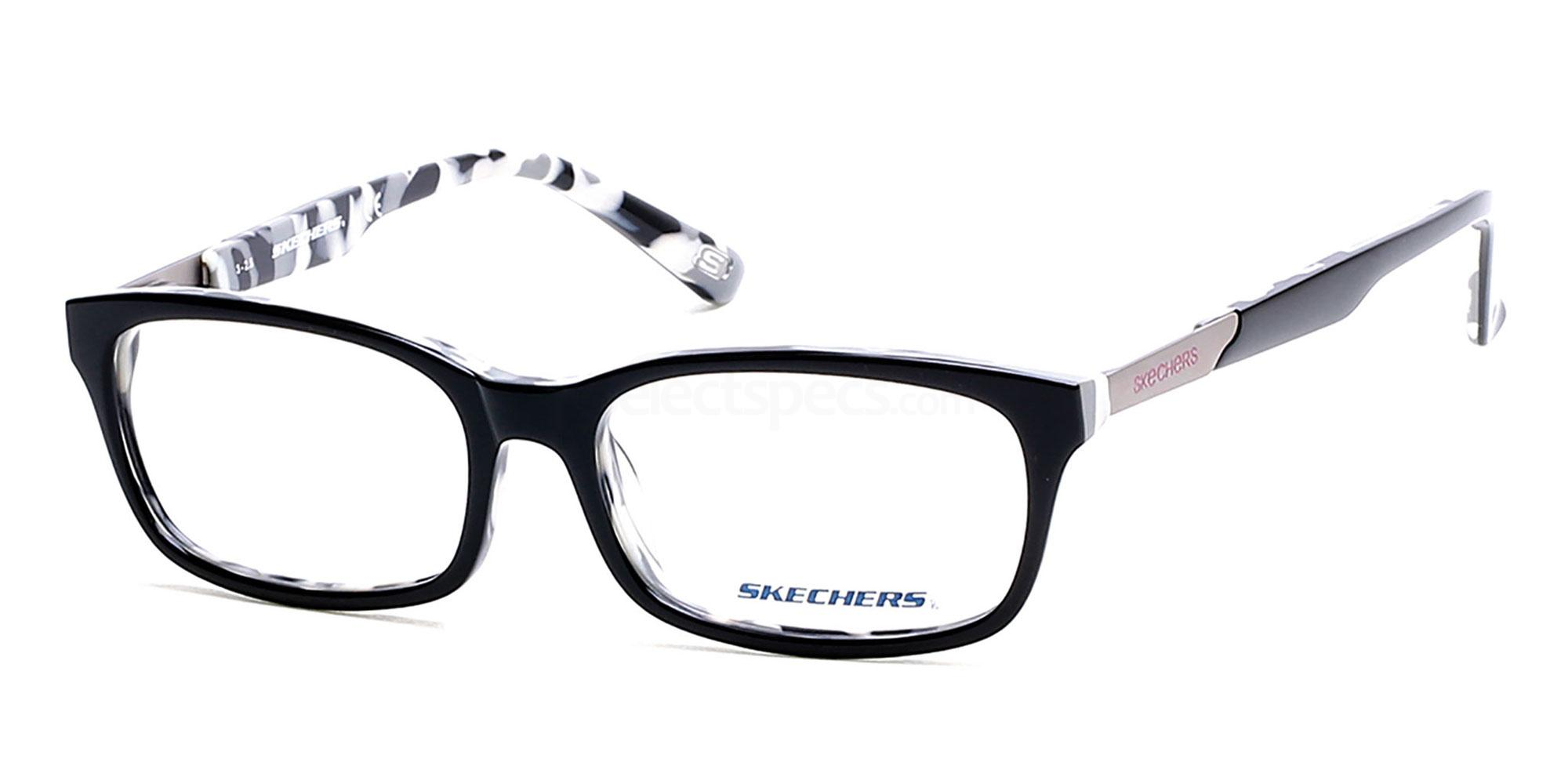 001 SE2125 Glasses, Skechers