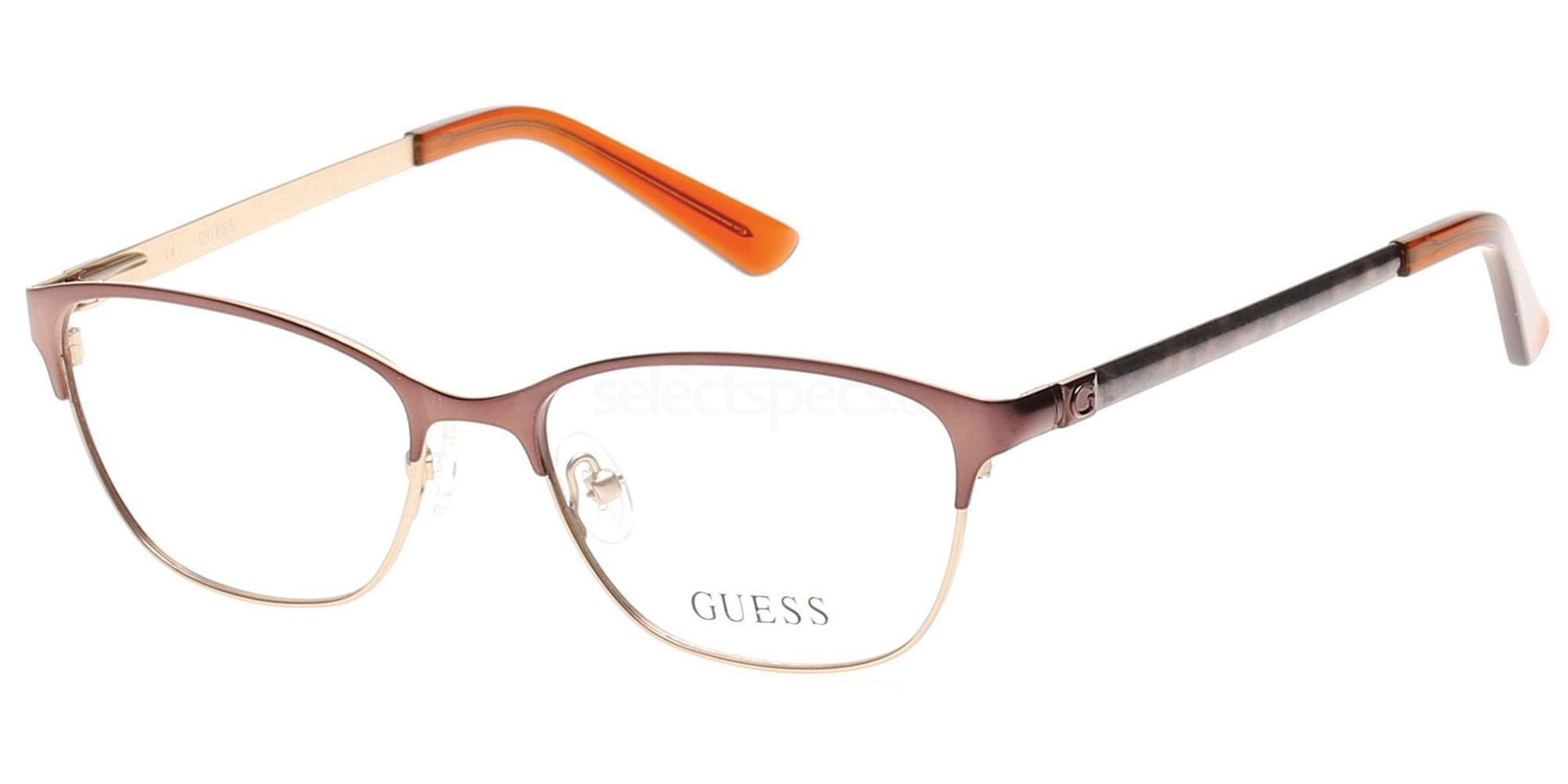 046 GU2499 Glasses, Guess