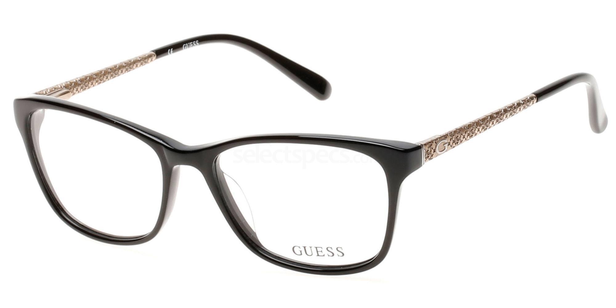 001 GU2500 Glasses, Guess