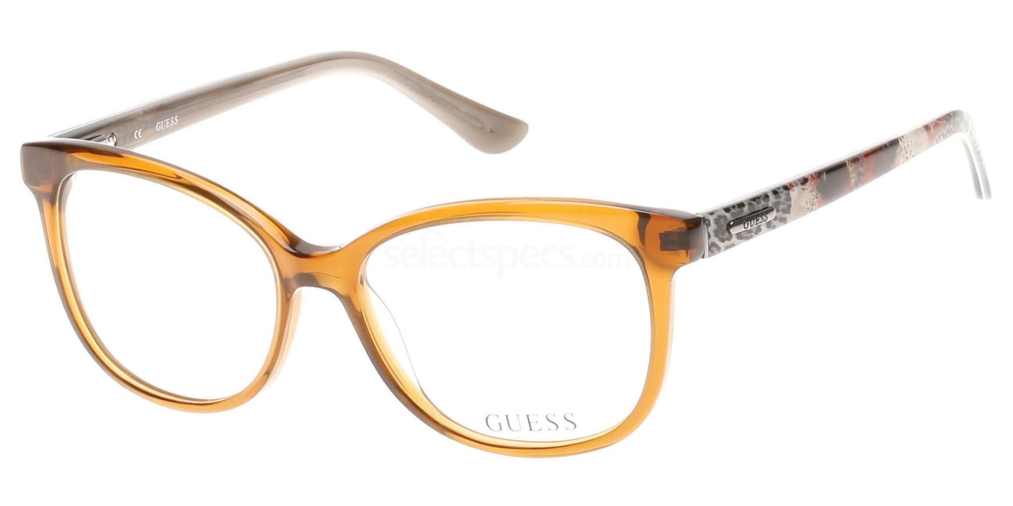 045 GU2505 Glasses, Guess