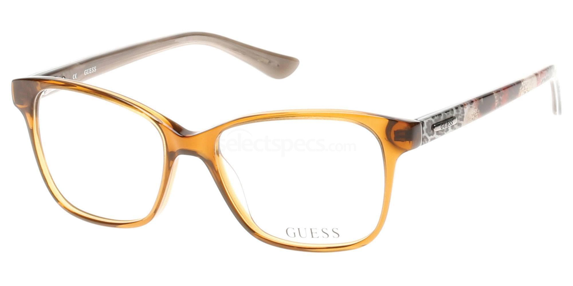 045 GU2506 Glasses, Guess