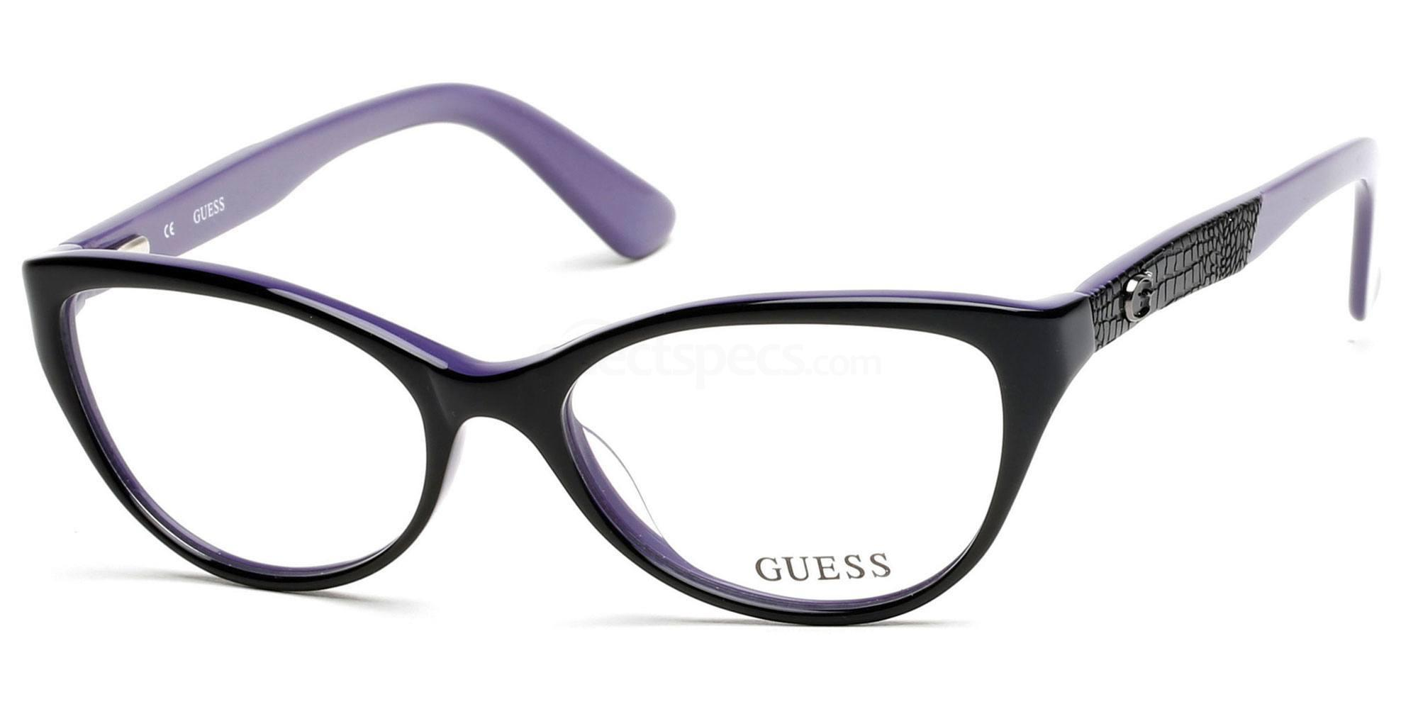 001 GU2509 Glasses, Guess