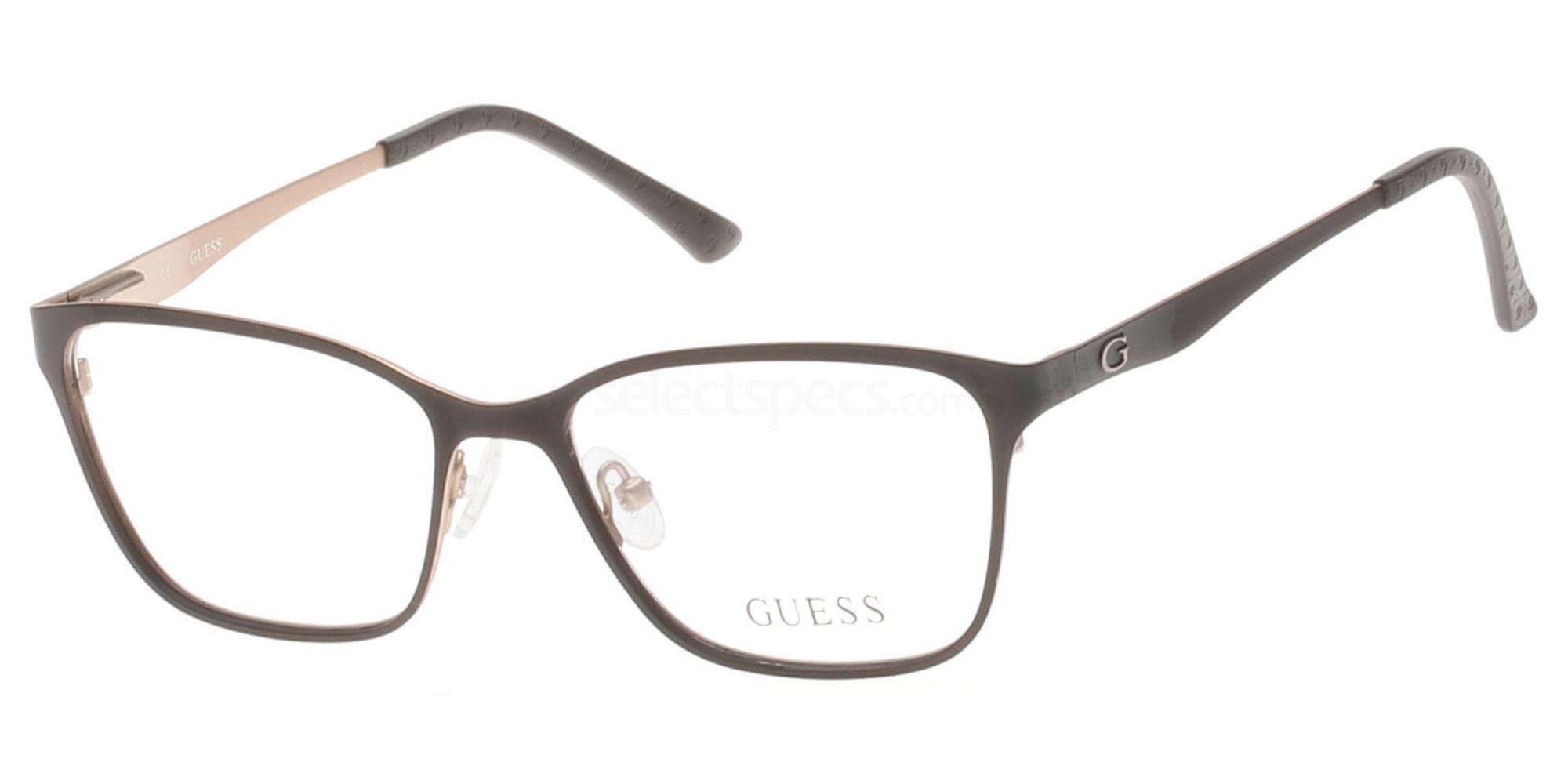 002 GU2511 Glasses, Guess