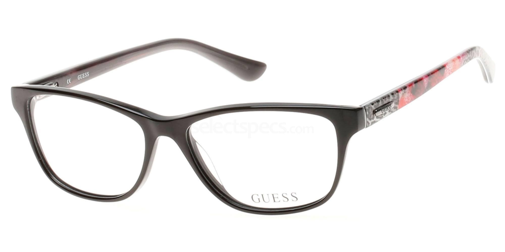 001 GU2513 Glasses, Guess