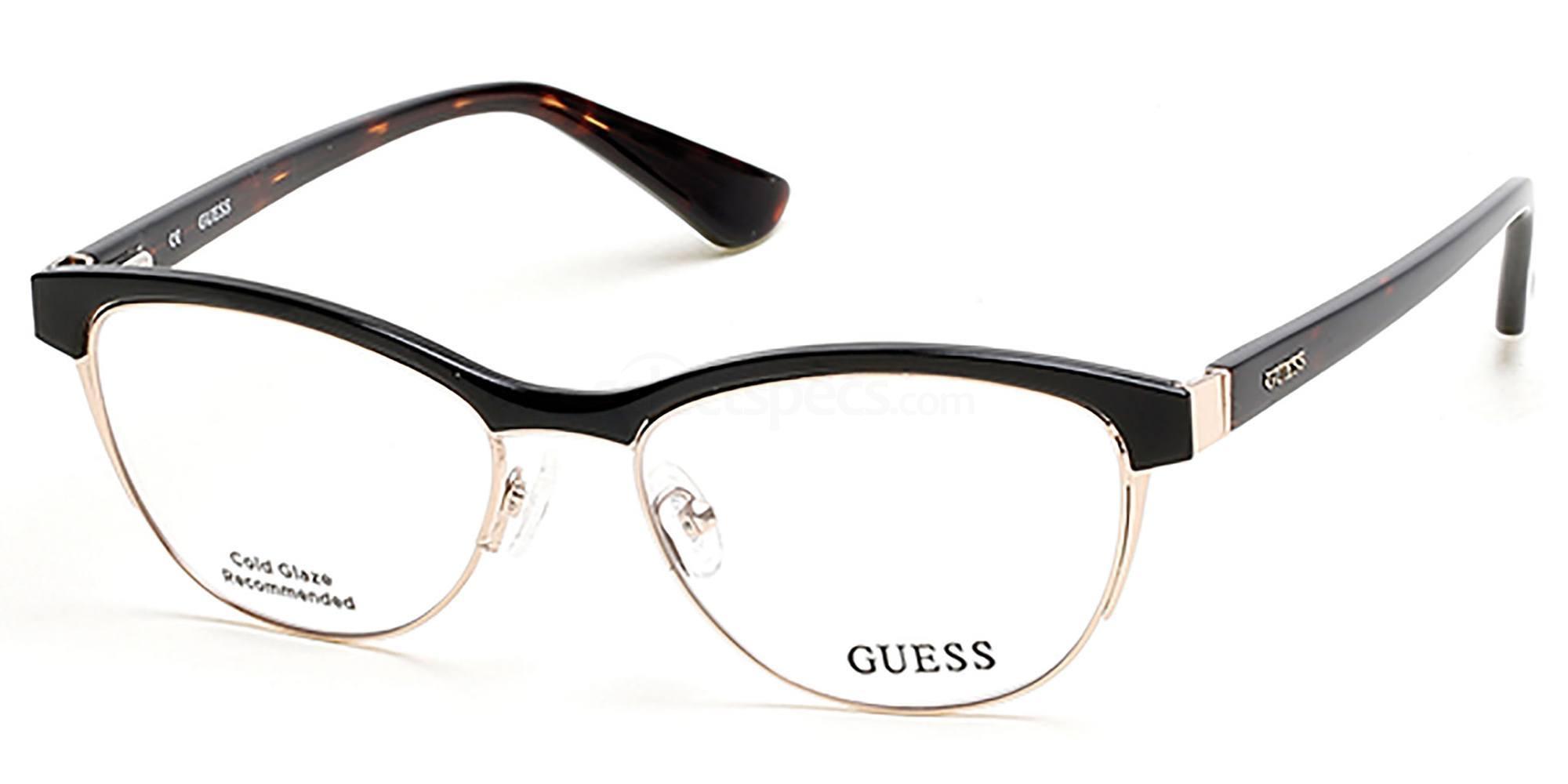 001 GU2523 Glasses, Guess