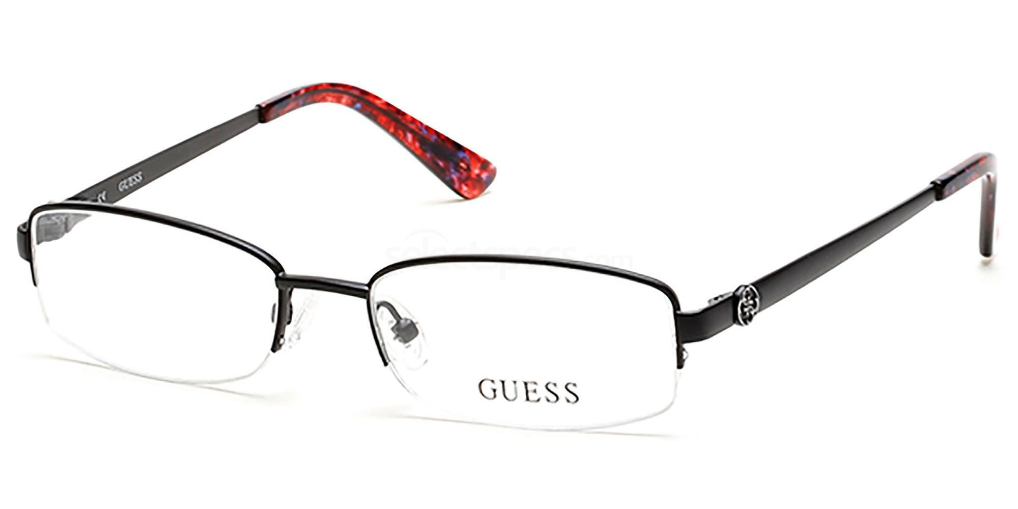 002 GU2525 Glasses, Guess