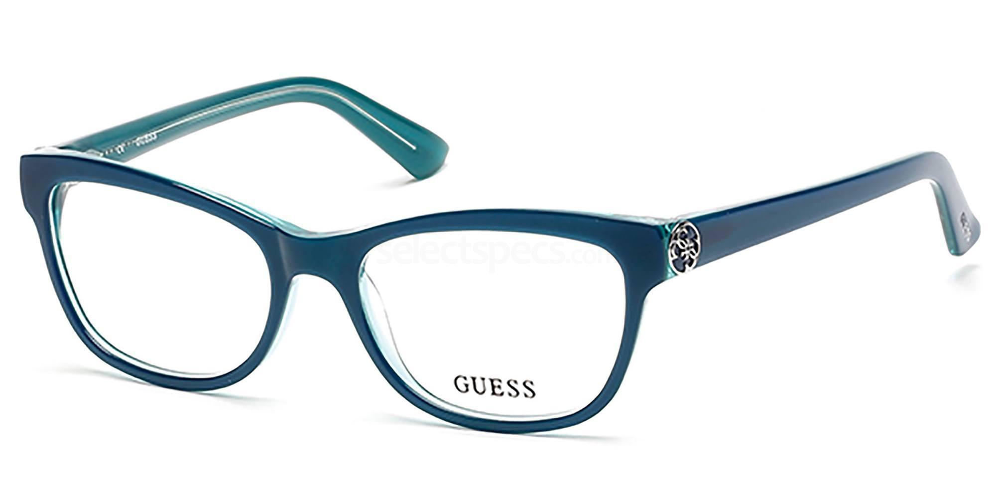 087 GU2527 Glasses, Guess