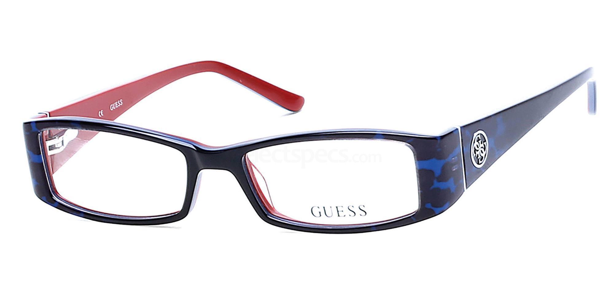 092 GU2537 Glasses, Guess