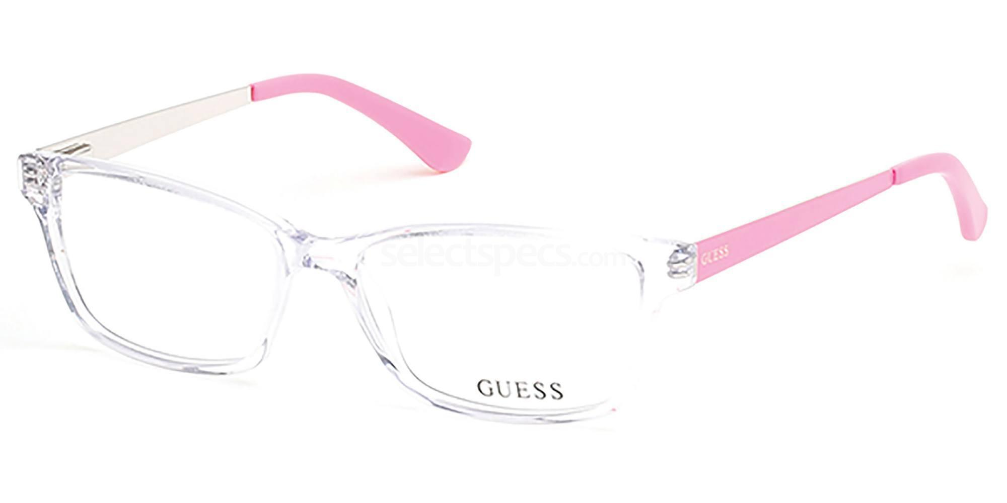 026 GU2538 Glasses, Guess
