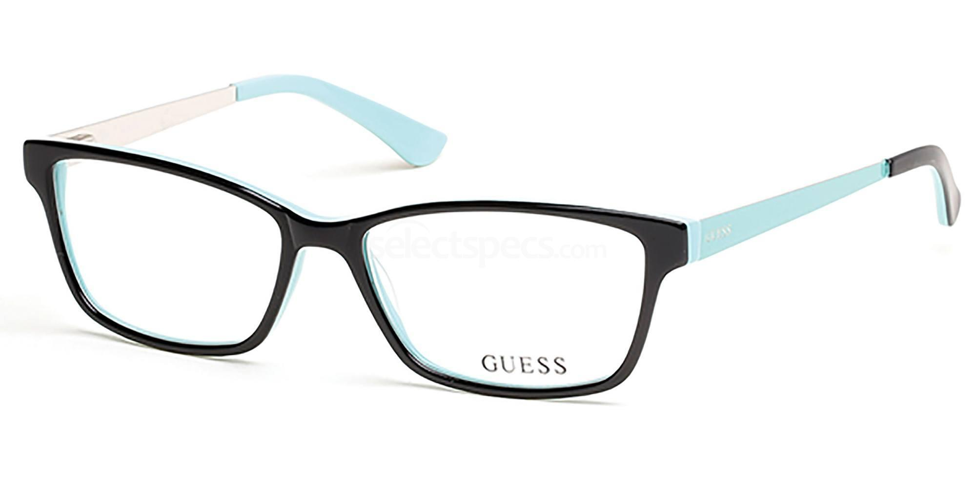 052 GU2538 Glasses, Guess