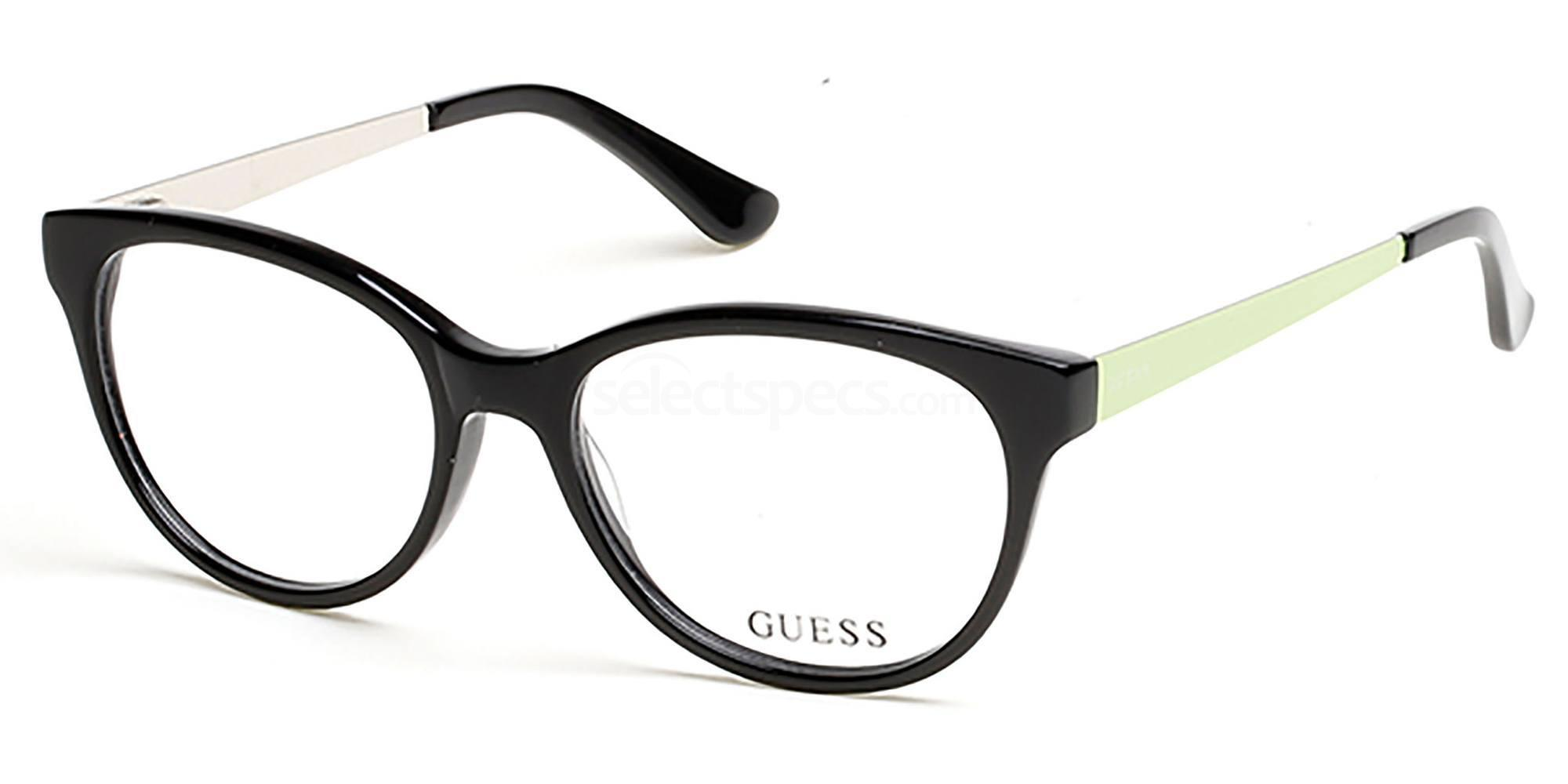 001 GU2539 Glasses, Guess