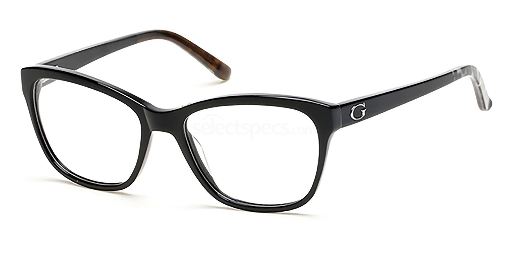 001 GU2541 Glasses, Guess