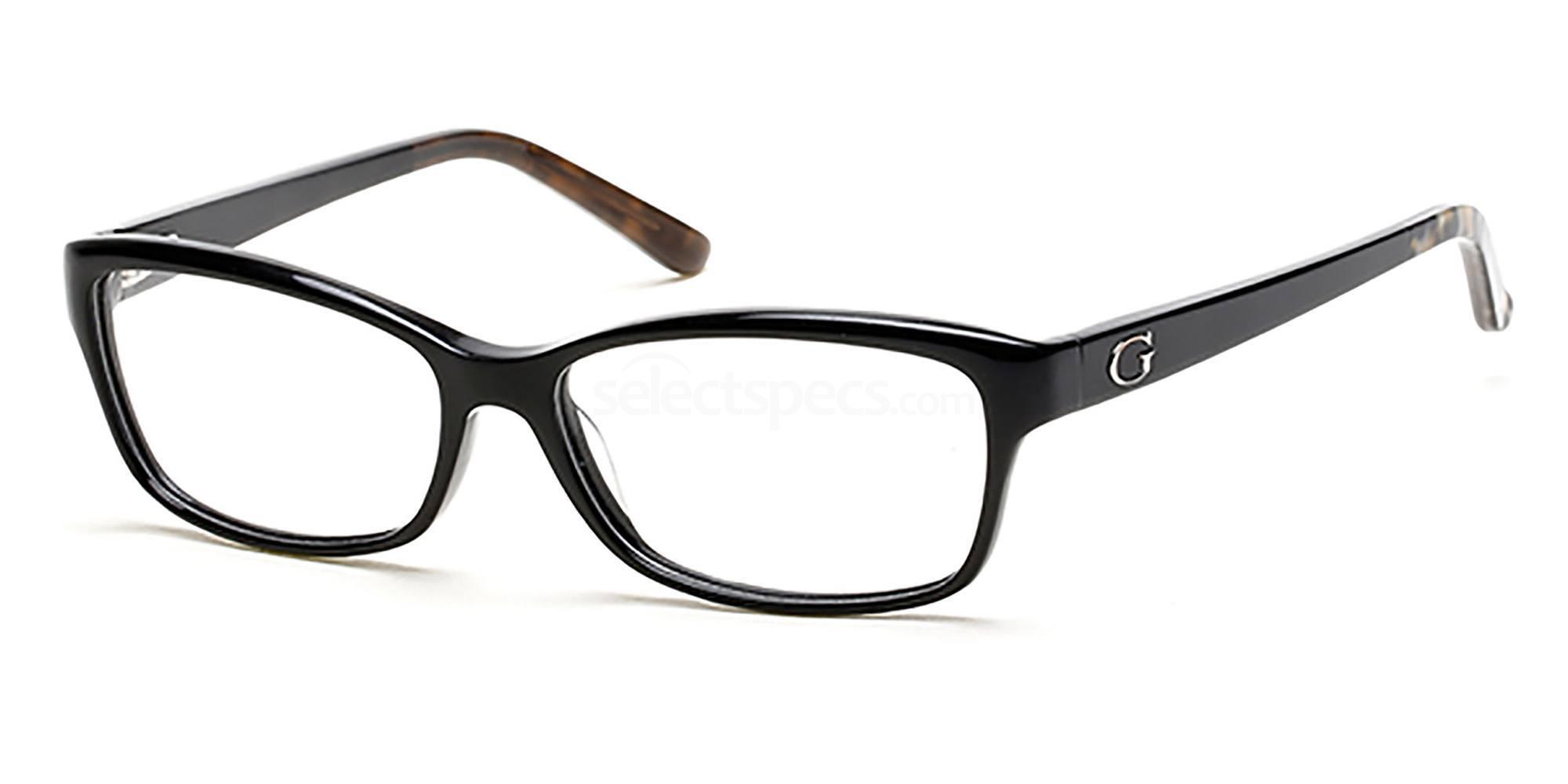 001 GU2542 Glasses, Guess
