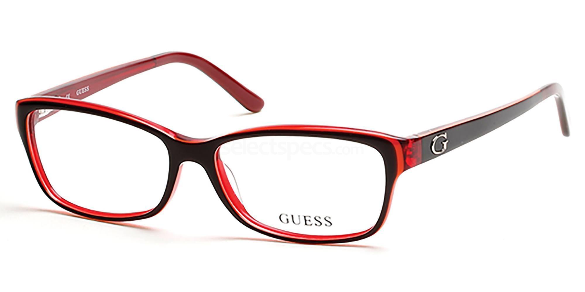 070 GU2542 Glasses, Guess