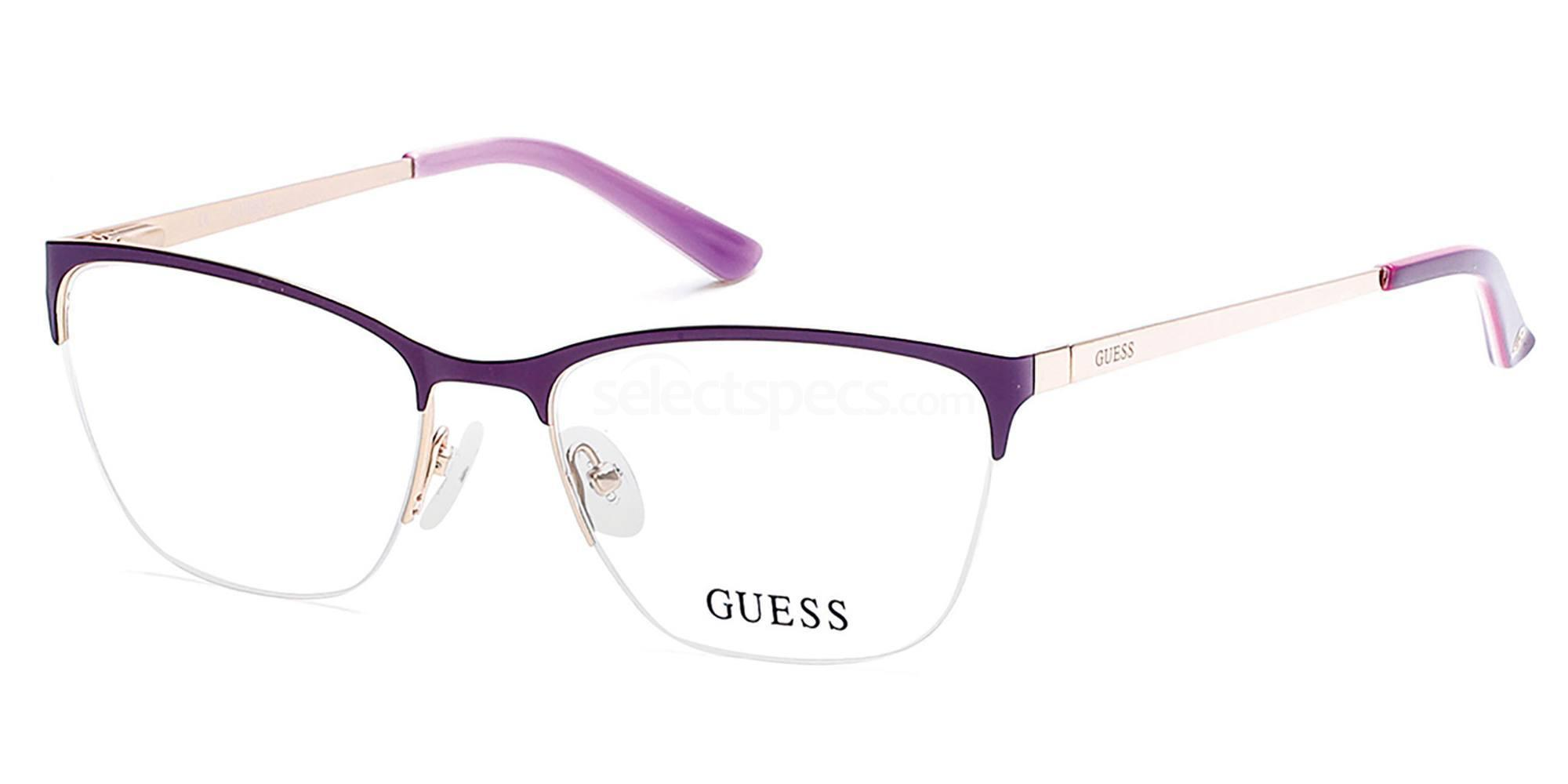 081 GU2543 Glasses, Guess