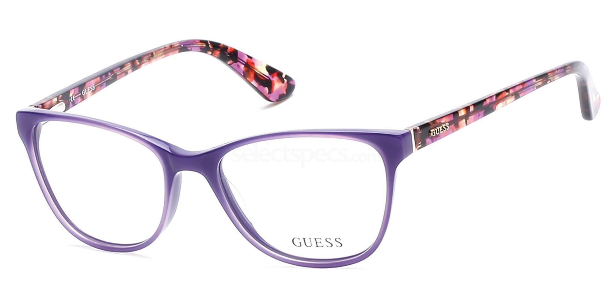 081 GU2547 Glasses, Guess