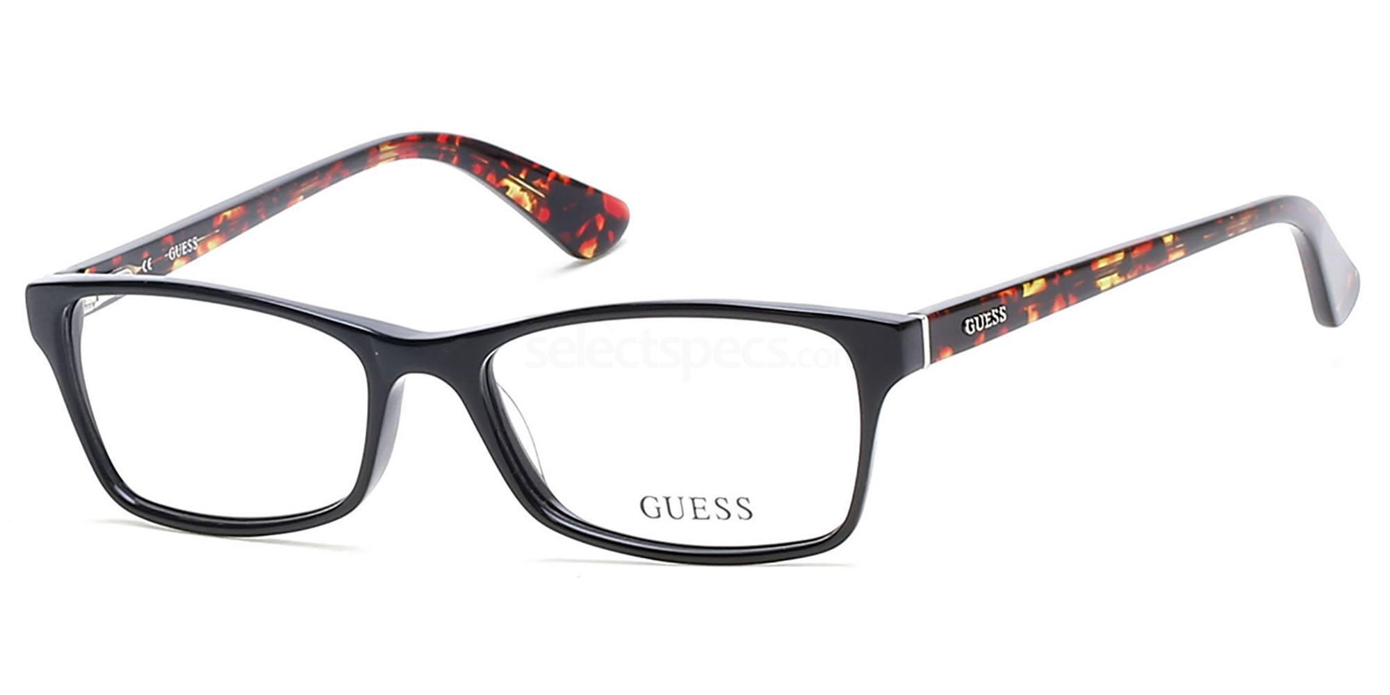001 GU2549 Glasses, Guess