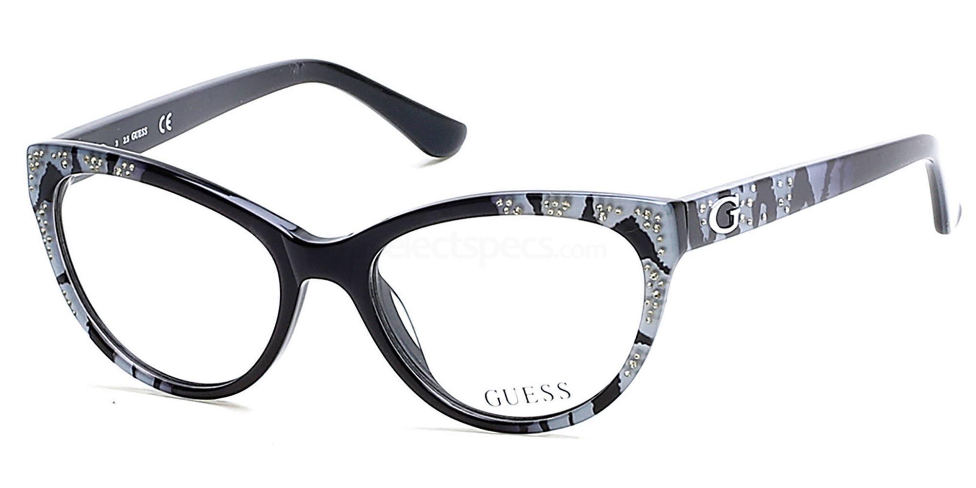 001 GU2554 Glasses, Guess