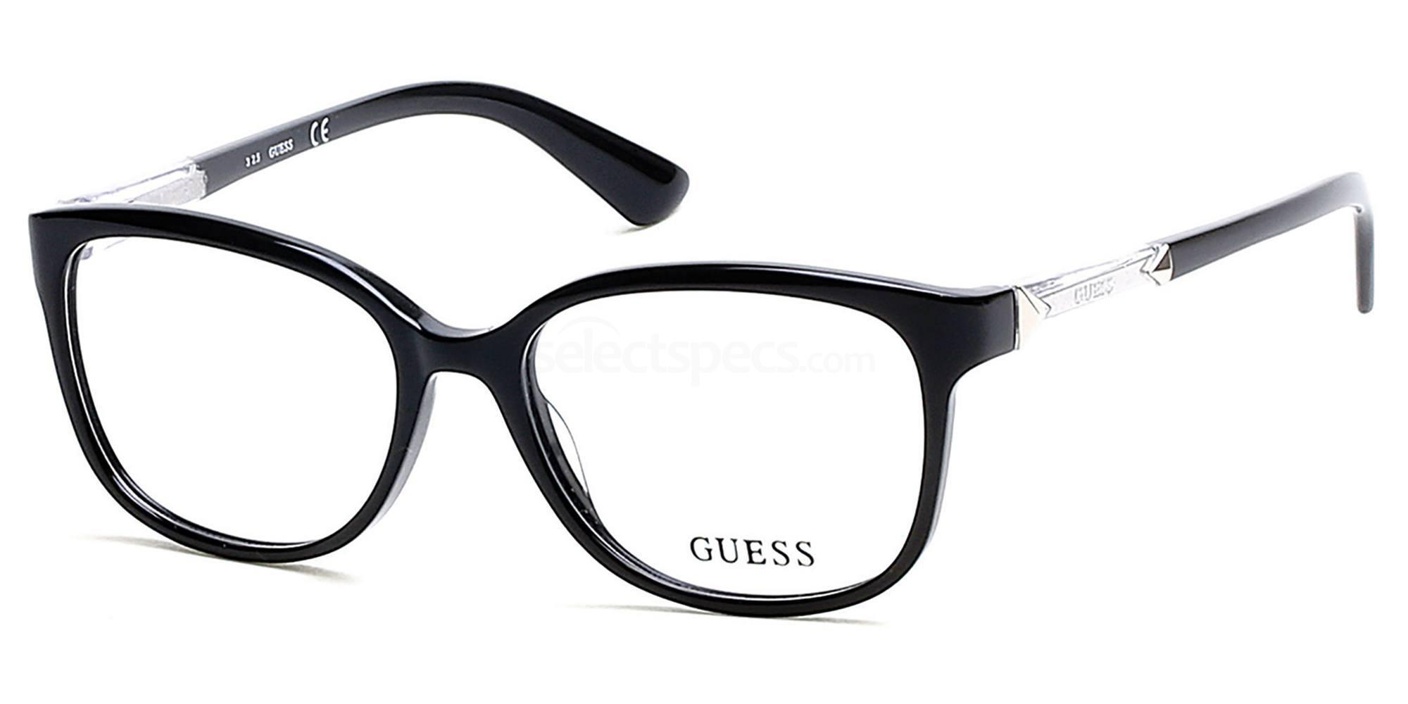 001 GU2560 Glasses, Guess