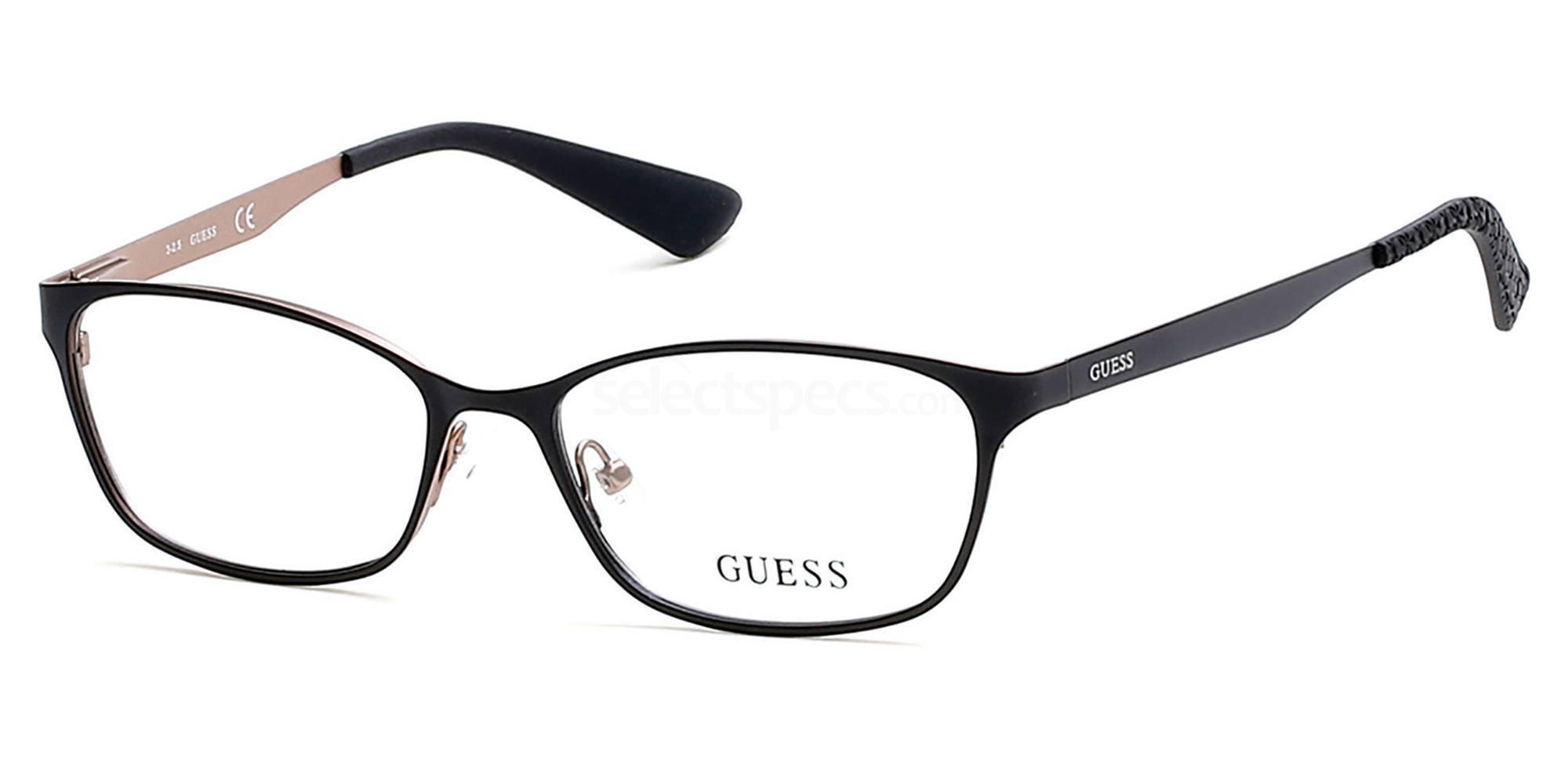 002 GU2563 Glasses, Guess