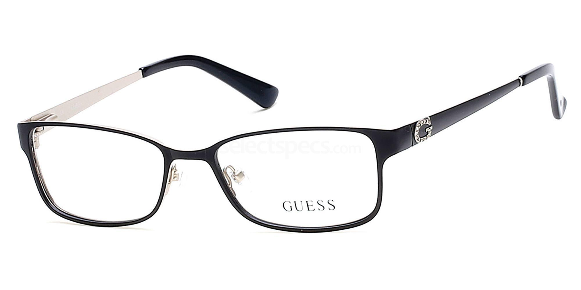 002 GU2568 Glasses, Guess
