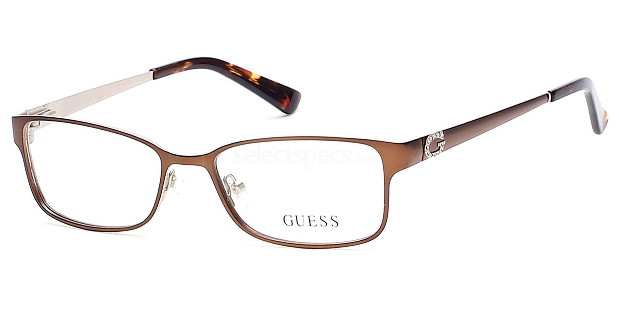 049 GU2568 Glasses, Guess