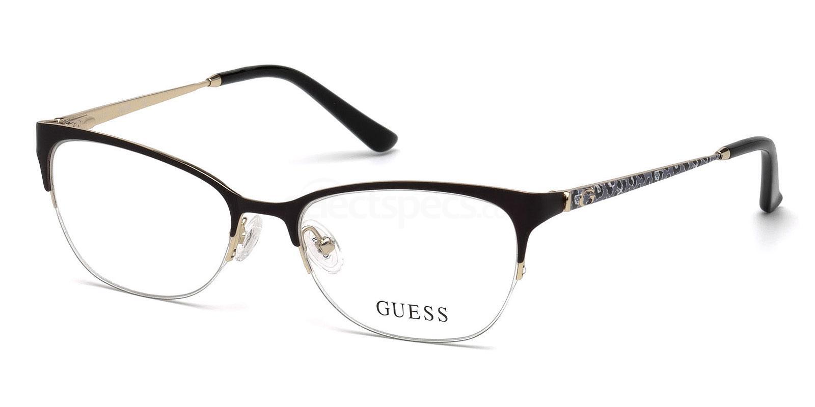 002 GU2584 Glasses, Guess