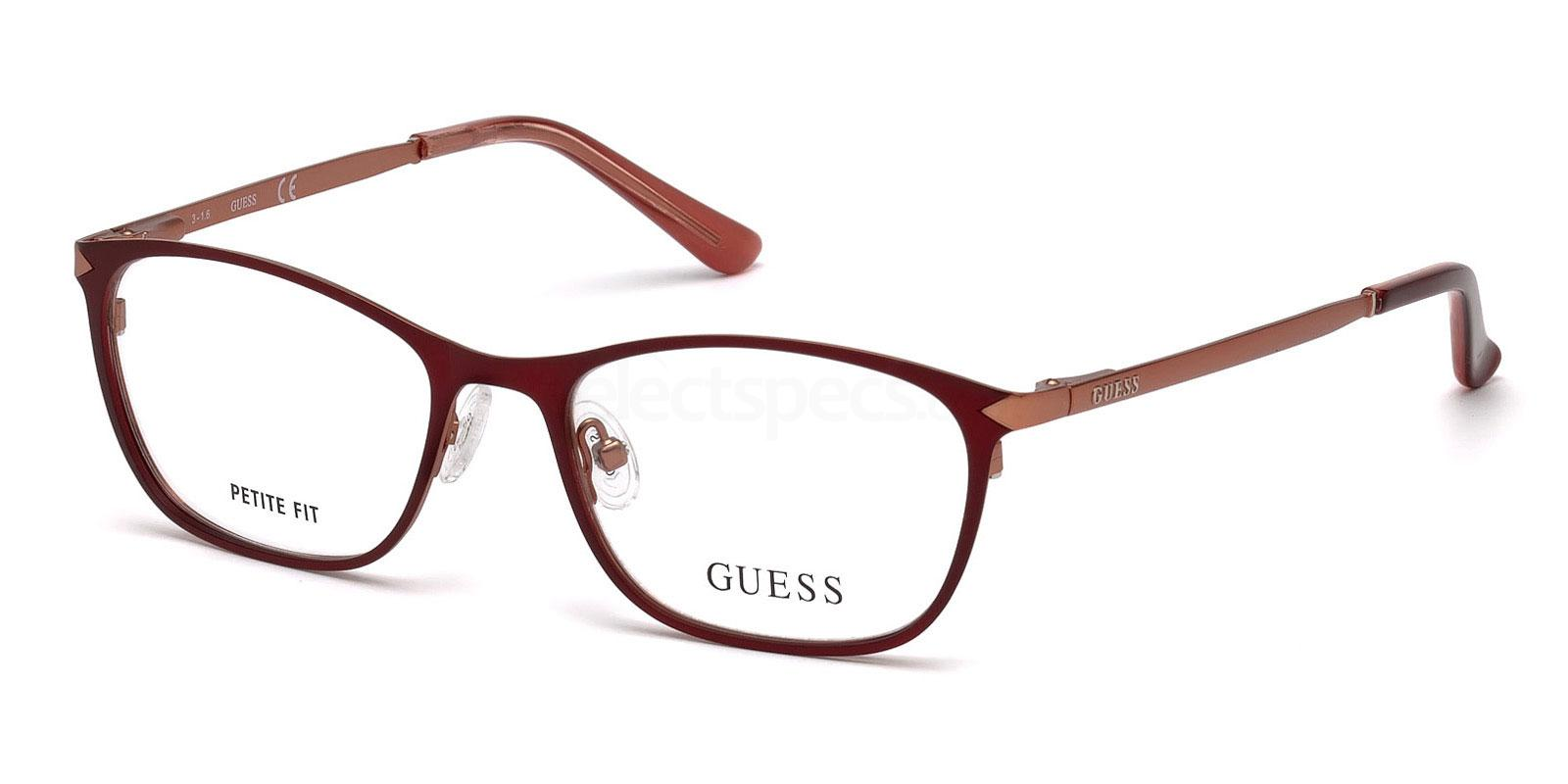 067 GU2588 Glasses, Guess