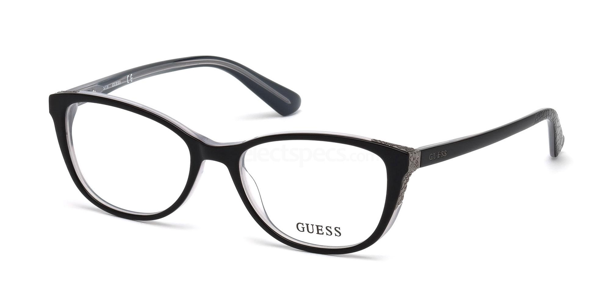 001 GU2589 Glasses, Guess