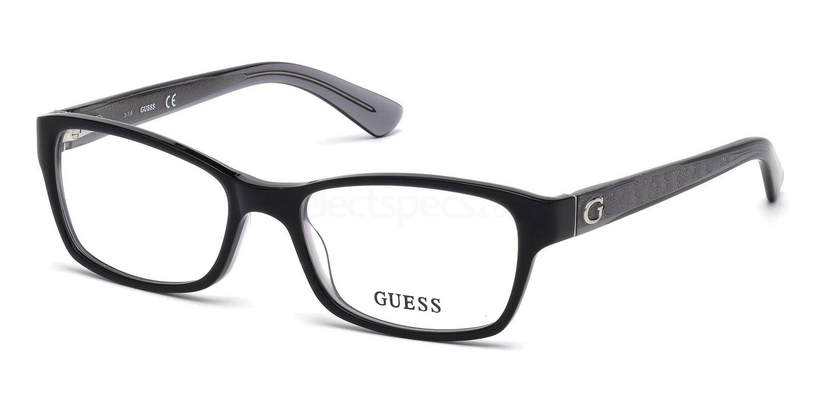 001 GU2591 Glasses, Guess