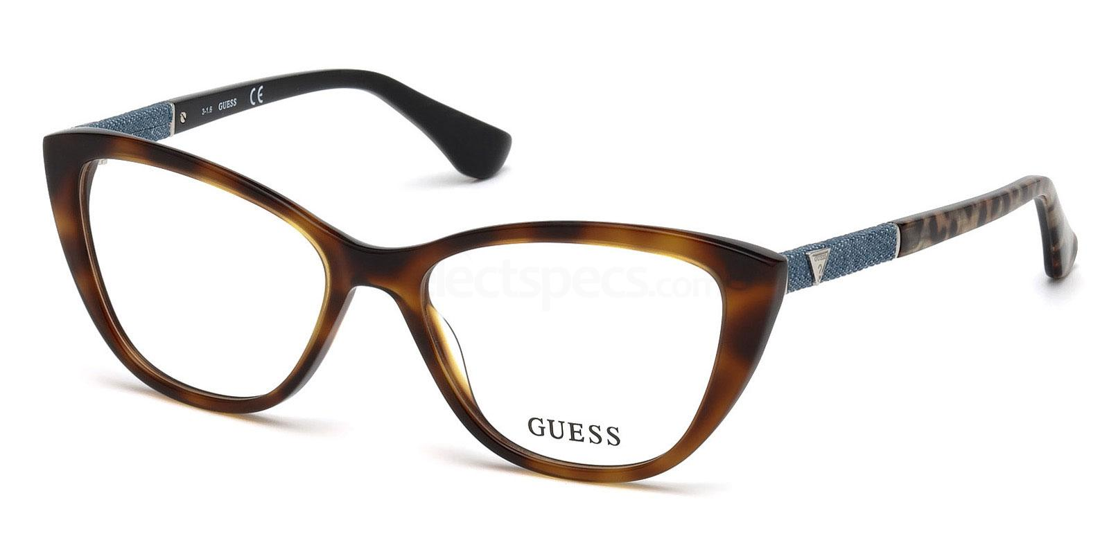 056 GU2593 Glasses, Guess