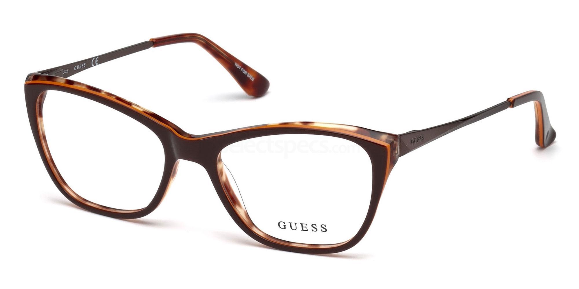 050 GU2604 Glasses, Guess