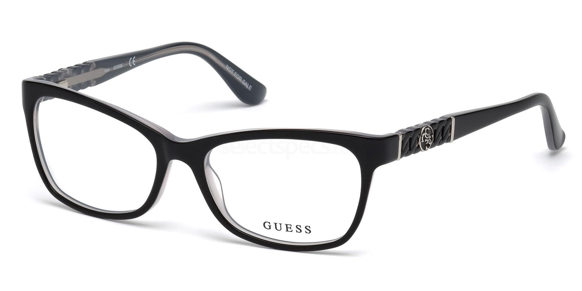 001 GU2606 Glasses, Guess