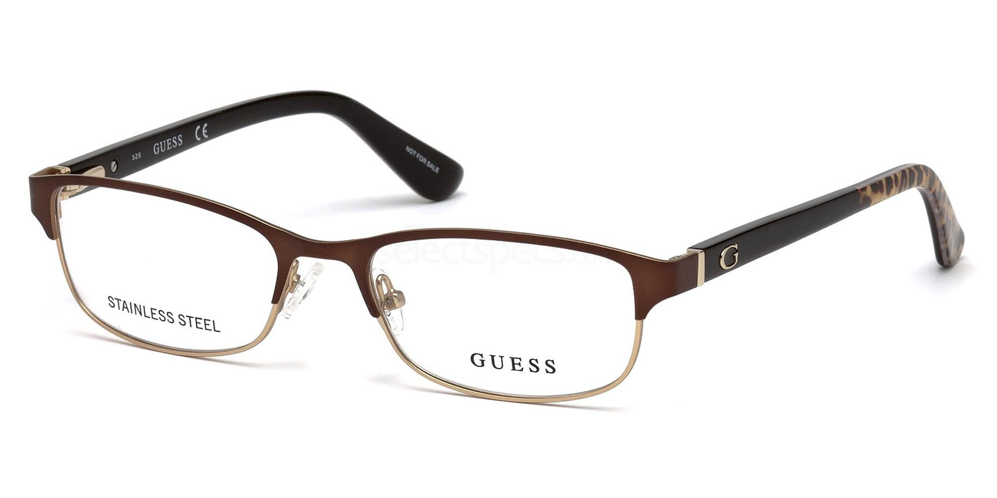 049 GU2614 Glasses, Guess